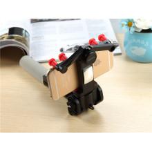 Built-in obturador remoto Folding 360 graus girando Wired Mini Selfie Stick