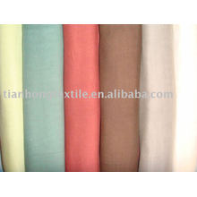 100% хлопок двойной слой окрашенные платье рубашка ткань ткань
