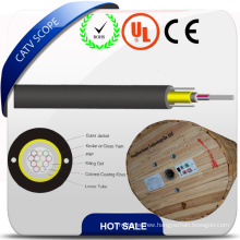 Non-Metallic Central Strength Member Indoor Loose Tube Optic Cable
