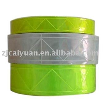 cinta reflexiva del PVC