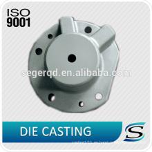 Cubierta de aluminio del extremo del eje de la fundición a presión