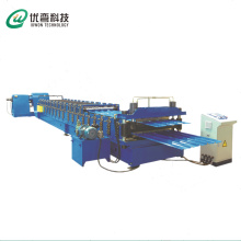 Trapesium Dinding Panel Double Layer Roll Forming Machine