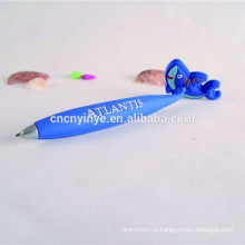 Персонажи из мягкого ПВХ плоский шариковая ручка