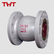 Нержавеющая сталь ss304 / 316 молчит подпружиненный обратный клапан