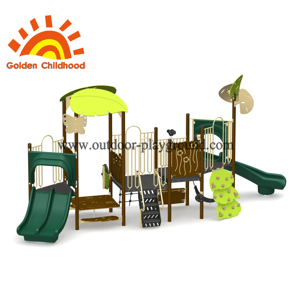 Safe Outdoor Playground Equipment