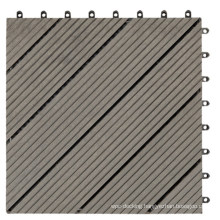 Fire Rated Wood Plastic Composite WPC Deck Tile