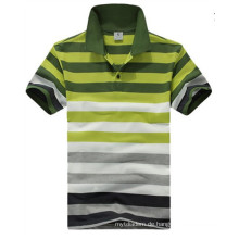 Stripe Polo Shirt, Herren Poloshirt