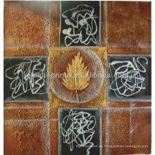 Venta al por mayor Pintura al óleo abstracta por Handpainted
