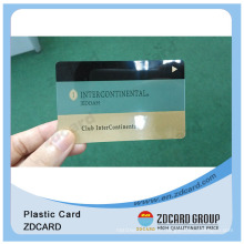 PVC Transparent Clear Magnetic Card