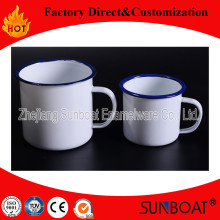 Sunboat New Design / Emaille Becher für 3 Set / Emaille Tasse Haushaltswaren