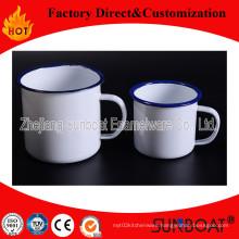Porcelain Cup Enamel Office Mug