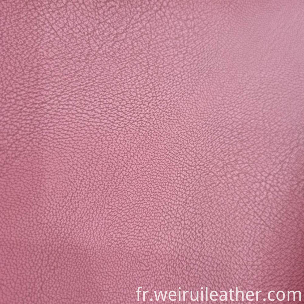 Two Tone Pu Artificial Leather