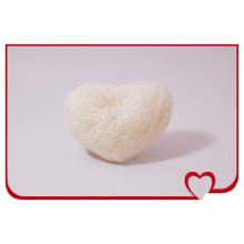 Esponja de limpieza facial en forma de corazón de esponja Konjac 100% natural