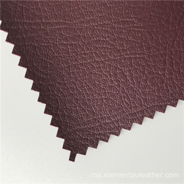 Spunlace Backing Palsu Kulit Vegan Embossed Leather