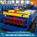 новый дизайн горячие продажи глазурованная черепица производитель машина Китай 1. преимущество Застекленного крена плитки формируя машину Китай