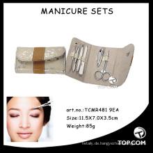 Professioneller Mikrokunstwerkzeug-Nagelfeile-Kit-Maniküresatz
