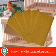 Eco-friendly gravel sand paper for pet bird
