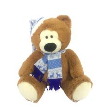 Plush Teddy Christmas Day