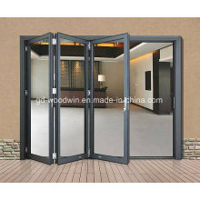 Double Glazing Aluminium Glass Folding/Bifold Door/Bifolding Door