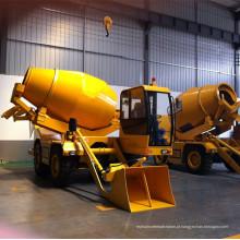 Misturador concreto do carro da carga do auto de 3cbm para a venda
