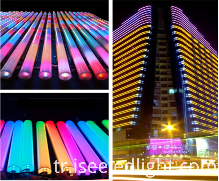 dmx led tube for outdoor