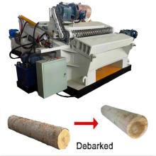 4 Feet Log debarking and rounding machine wood tree debarker lathe