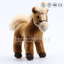 2015 venta caliente ICTI promocional con pilas caballo juguetes para niños