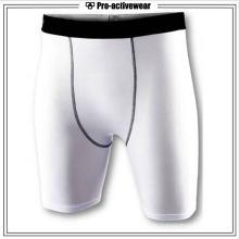 Fertigen Sie besonders an Mode-schnelle trockene Polyester-atmungsaktive Männer Turnhallen-Kurzschlüsse besonders an