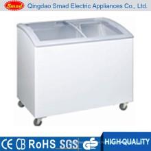 wholesale ice cream top open general chest freezer