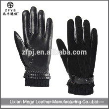 Made in China Hot Sale Mens Pig Suede Winter Leather Gloves alibaba express
