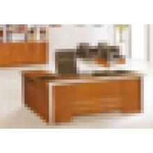 CEO bureau de bureau en verre antique en bois moderne