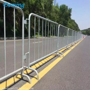 1.5m Height Metal Steel Galvanized Crowd Barrier