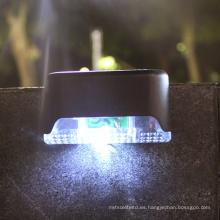 Luz solar para valla de jardín al aire libre