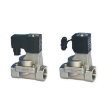 Válvulas de control de fluido de la serie 2S de acción indirecta y normalmente cerrada tipo 2/2 vías