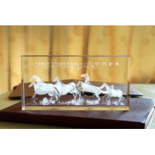 Crystals Within The Three-Dimensional Carving Animals