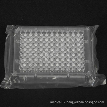 Disposable Sterile Lab Organic Glass 96 Hole Biochemical Reaction Plate