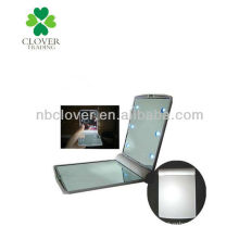 promotion makeup mirror with led light for lady