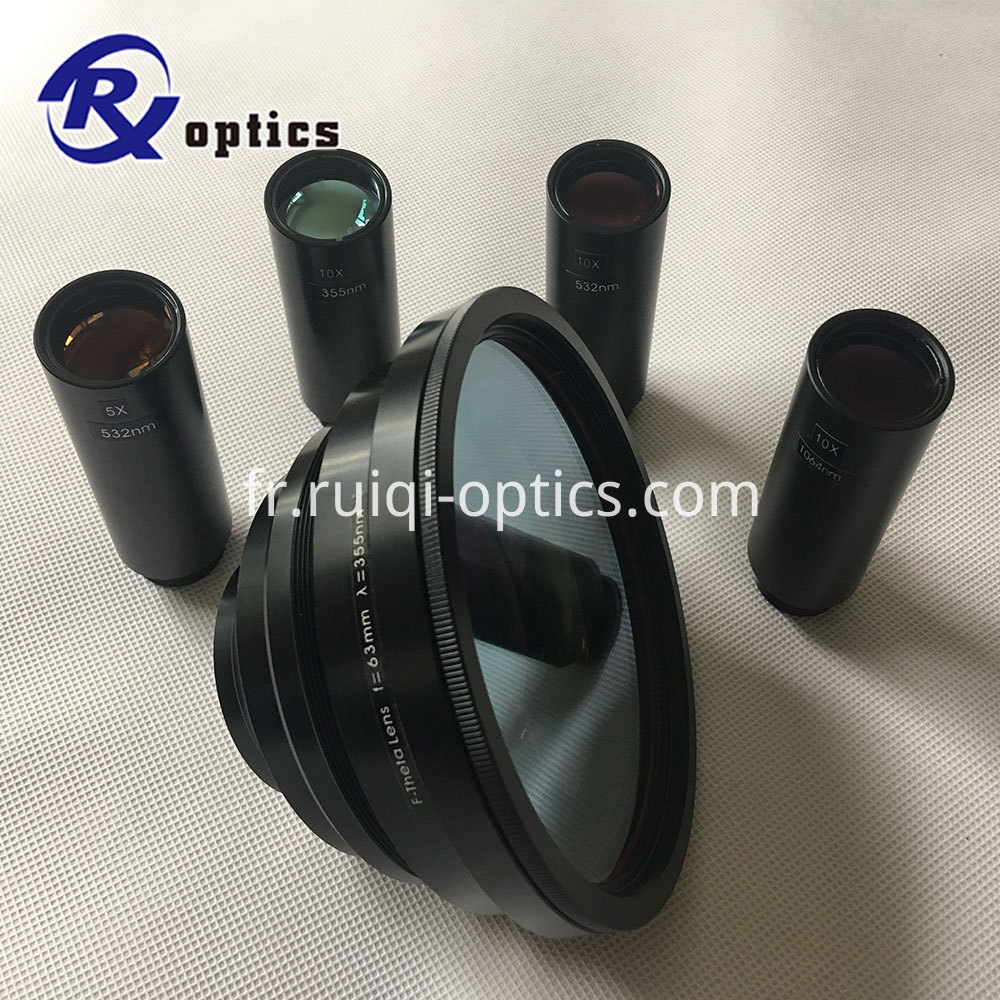 F-Theta Scan Lenses 355nm