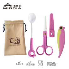 Baby/Pflegeprodukte für keramische Essen Schere/Obst Folding Knife/Füttern Löffel