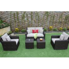 Los muebles de jardín sintéticos los más vendidos del diseño del sofá de la rota del nuevo diseño