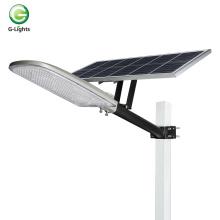 Alumínio fundido ip65 luz de rua led solar separada