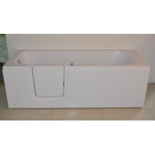 Banheira de descida de venda quente com drenos duplos