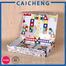 Verpackungspapierkasten für Kinder Kartenspiel