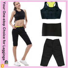 Plus Size Hot Thermo Lady Women Sweat Sauna Sexy Slimming Shaper Short Yoga Fitness Neoprene Pants