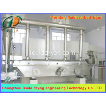 serbuk gula getah Fluidized Bed Drying machine