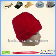LSA08 High Quality Winter Angora promotional wholesale hat and cap