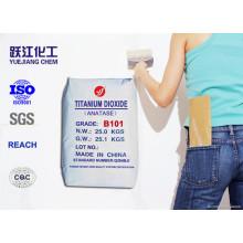 General Use Fine and Soft White Powder Anatase Titanium Dioxide