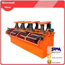 Garantie prix de machine de flottation de minerai de graphite de haute précision