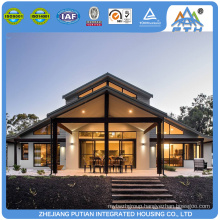 High quality beautiful design prefabricated villa house