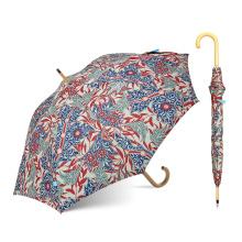 Topumbrella-Standardgröße-Luxus-schöner Blumen-Regenschirm für Förderung